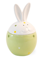 Dotty Bunny Jar Large