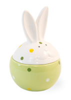 Dotty Bunny Jar Small