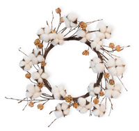 Cotton Days Wreath