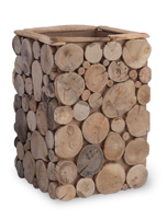 Driftwood Decorative Container