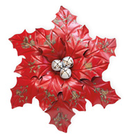 Red Poinsettia Wall Art