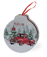Peace Truck Ornament