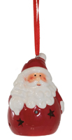 Santa Claus LED Ornament
