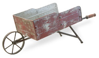 Red Wheelbarrow Large