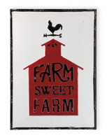 Farmhouse Style Farm Sweet Farm Vintage Sign