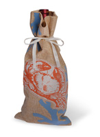 Shore Thing Crab Bottle Bag