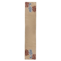 Shore Thing Seahorse Table Runner