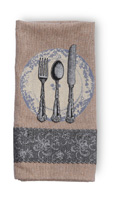 Place Setting Towel
