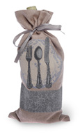 Place Setting Bottle Bag