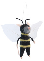 Brady the Bumblebee Mouse Ornament