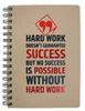 Hard Work Wire Notebook Large
