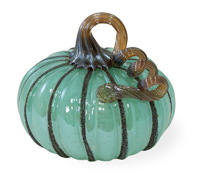 Blue Autumn Small Pumpkin