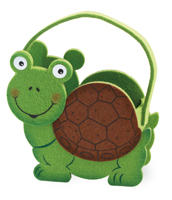Turtle Felt Basket