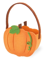 Felt Pumpkin Gift Bag