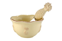 Pineapple Bowl & Spreader Set