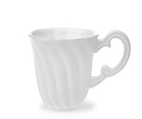 Courtyard Whiteware Mug