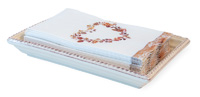 Beaded Guest Caddy Tray Cream
