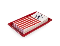 Guest Caddy Tray Red