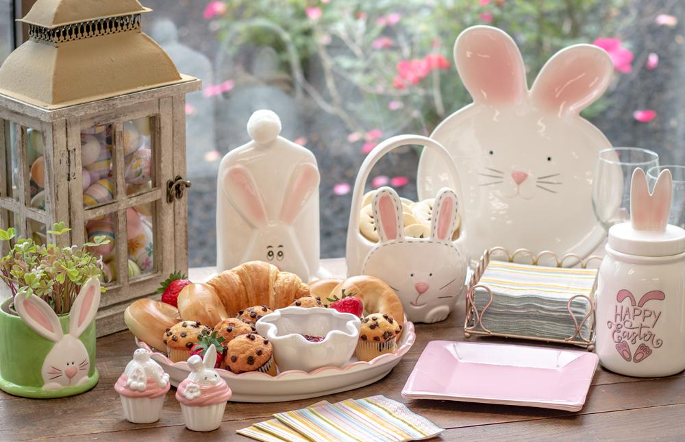decortive ester ccents easter rabbit decor bunny.htm hoppy easter bunny sitter  hoppy easter bunny sitter