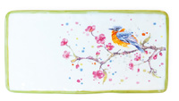 Bird & Cherry Blossoms Platter