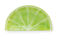 Citrus Lime Wedge Plate