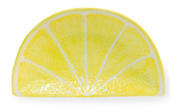 Citrus Lemon Wedge Plate