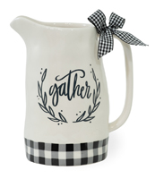 Gather Check Pitcher