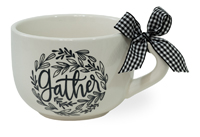 Gather Check Soup Mug