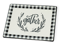 Gather Check Platter