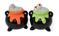 Cauldron Salt & Pepper Set