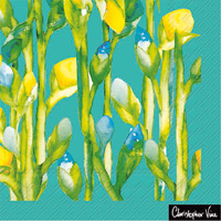 Christopher Vine Iris Fields Lunch Napkins