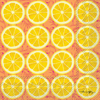 Lemon Craze Lunch Napkins