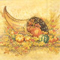 Autumn Collection Lunch Napkin