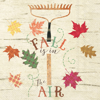 Fall is in the air Lunch Napkin