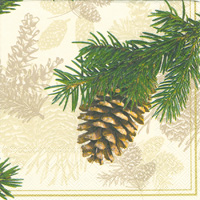 Fir Cone Lunch Napkins