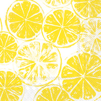Lemon Bar Lunch Napkins