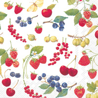 Fruits of Summer Lunch Napkins