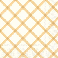 Quilt Gold Lunch Napkins