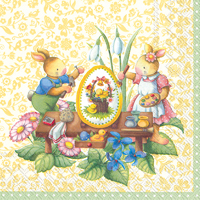Easter Spring Fantasy Lunch Napkins