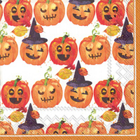 Rosanne Beck Spooky Trio Lunch Napkins