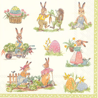 Stories of Bunnies Lunch Napkins