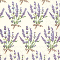 Bouquet of Lavender Lunch Napkins