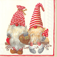 Friendly Tomte Lunch Napkins