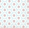 Winter Dotty Light Blue Lunch Napkins