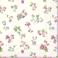 Bellina Cream Lunch Napkins