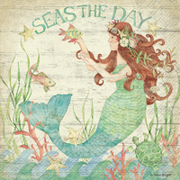 Seas the Day Lunch Napkins