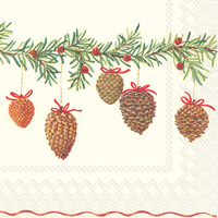Charming Garland Lunch Napkins