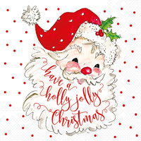 Rosanne Beck Holly Jolly Lunch Napkins