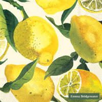 Lemons Lunch Napkins