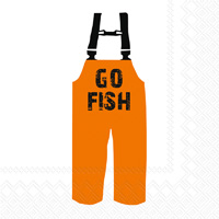 Go Fish Lunch Napkins